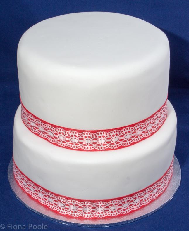 Naked cake - I quite like it like this
