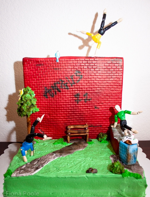 Parkour cake-4