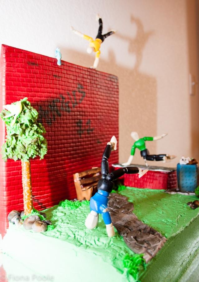 Parkour cake-5