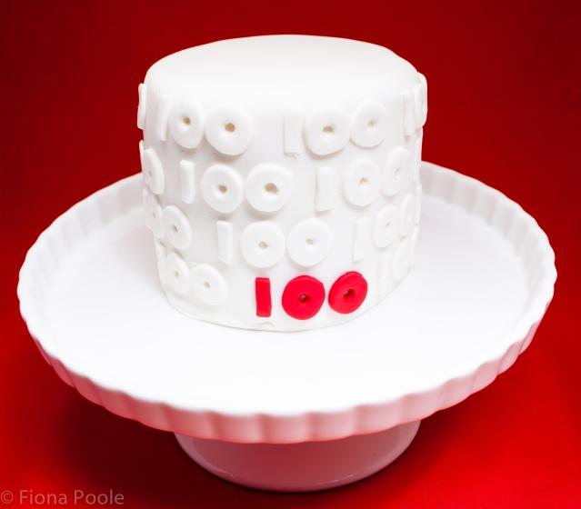 100 cake-1
