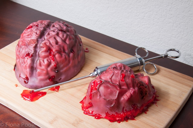 brain heart cake-1