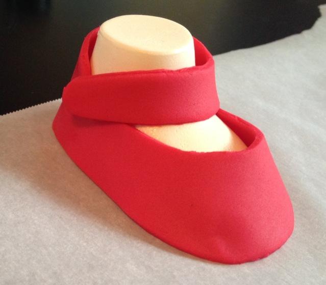 naked baby shoe