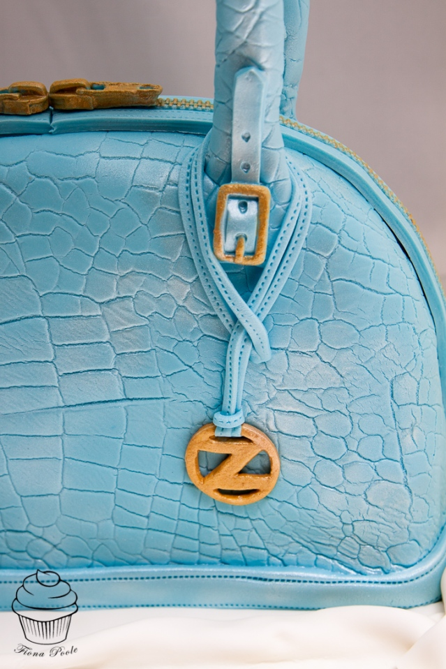 """Z"" logo charm and Brindle buckle"
