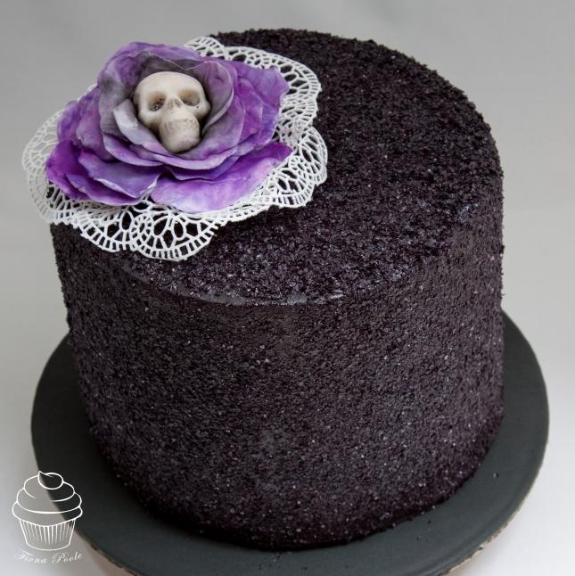 black-glitter-cake-3