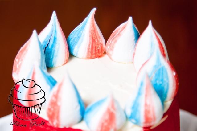 4th of July meringues
