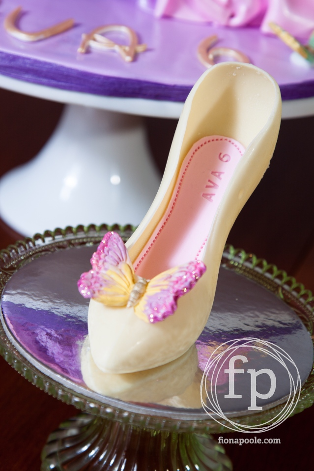 Chocolate Butterfly Heel