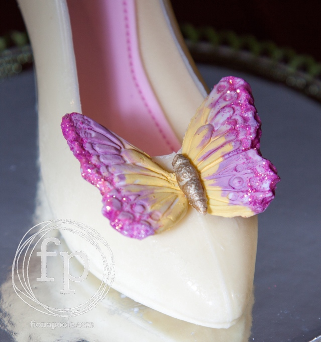 Chocolate Butterfly Heel 3