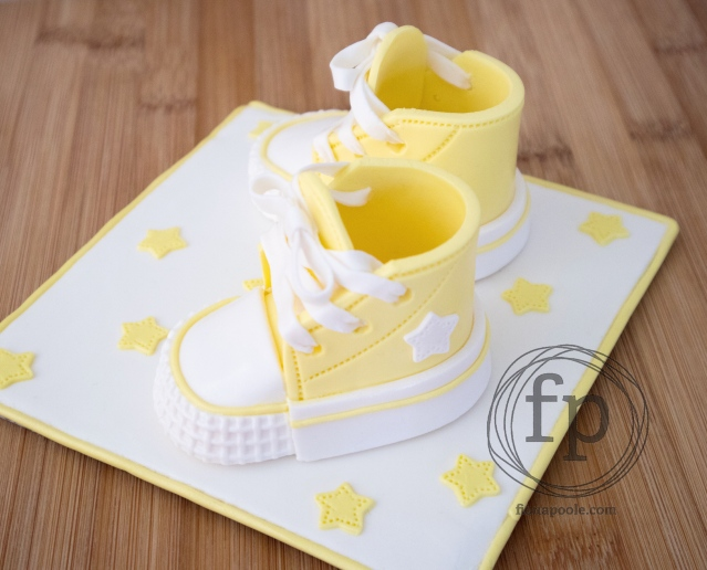 Baby Converse Cake Topper | Fiona Poole